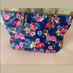 Floral Nine West Tote/Shoulder Bag